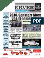 Liberian Daily Observer 01/14/2014