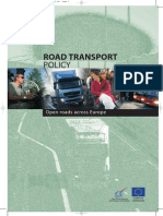 EU Road Transport Policy