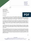 Letter to Energy Minister Chiarelli regarding propane shortage