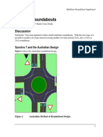 Multi-Lane Roundabouts Supplement