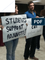 Austin Community College Adjuncts Rally for Health Coverage