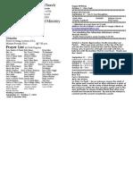 Locust Grove Bulletin for September 27, 2009