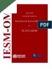 Ecuador Who Aims Report