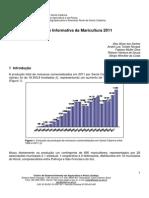 Síntese informativa da maricultura 2011 15-10-12