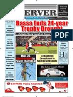 Liberian Daily Observer 01/20/2014