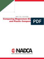 Comparing Magnesium Die Castings and Plastic Components