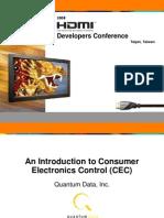 CEC HDMI Conference Final