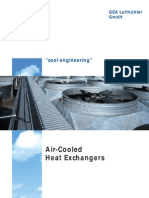 Air Cooled Heat Exchangers - GEA Brochure