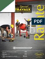 Catalogue Ravate -Gros Travaux