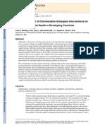 Safety and Impact of Chlorhexidine Antisepsis