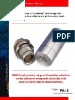 Data Sheet - Bonded Metals
