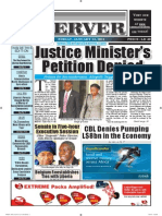 Liberian Daily Observer 01/24/2014