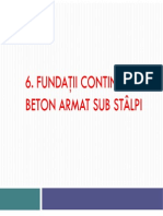 Fundatii Pe Retele de Grinzi, Fundatii Pe Chesoane an IV CCIA 2012-2013