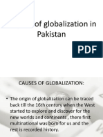 Impact of Globalization