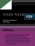 Css Efusi Pleura