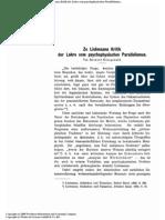 Honigswald - Liebmann