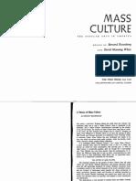 """""""A Theory of Mass Culture"""" - Dwight Macdonald"""