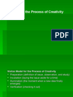 Models for the Process of Creativity