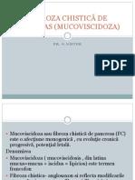Curs 4 Bfkt Mucoviscidoza Pediatrie