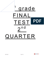 8th.final Test 2nd Quarter