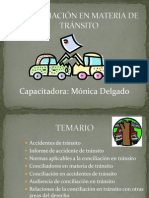 CONCILIACIÓN EN MATERIA DE TRÁNSITO 1