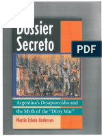 """""""The Sad Privilege of Being Argentine"""" -- Chapter 1 of Dossier Secreto"""
