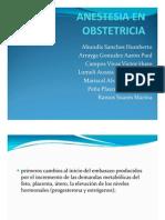 anestesicos obstetricos