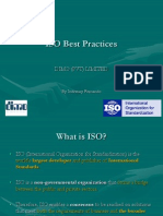 ISO Best Practices 27.6.2011