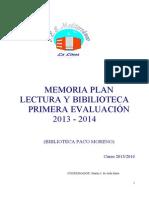 Informe Biblioteca Primer Trimestre