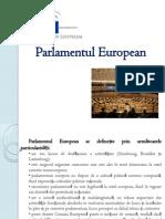 Parlamentul European Ppt
