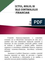 Obiectul, Rolul Si Functiile Controlului Financiar