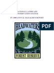 National Landscape Conservation System Fy 2008 Annual Manager's Report