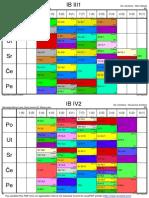 Novi Raspored IB 1, 2