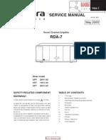 Integra RDA7 Pwramp