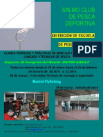 XIII CARTEL Curso de Montaje y Jornadas 2014