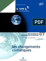 Les changements climatiques