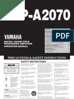 Yamaha Dsp a2070