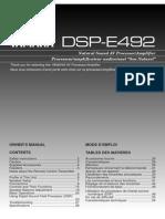 Yamaha DSP E492