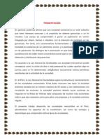 Constitución de Sociedades Mercantiles