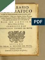 88809085 Francisco Tavares de Brito Itinerario Geografico 1732