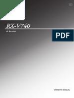 Yamaha RXV740