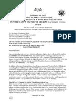Corpus Delecti Demand-Kedar Legal; trespass