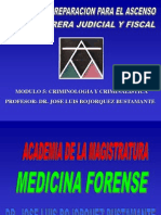 ACADEMIA DE LA MAGiSTRATURA (Rol de la  Criminalística en el NCPP)