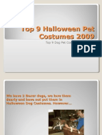 Top 9 Halloween Dog Costumes 2009