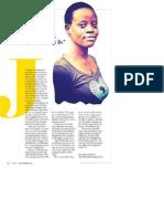 'Politik for mig er personligt, fordi det påvirker mit liv'.