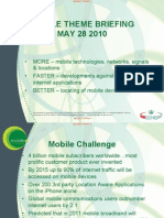 GCHQ - Mobile Theme Briefing - May 28 2010