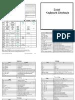 Excel Shortcut - Short List