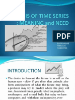 Analysis of Time Series