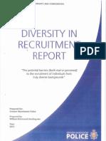 Diversity in Recruitment Report - Executive Summary
