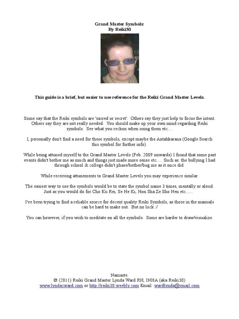 Reiki Grand Master Levels 5 18
